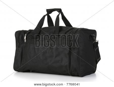 Black Carry On Duffel Bag