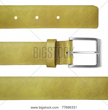Belt Isolated Ion White Background