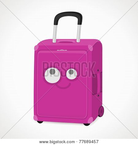 Suitcase With A Muzzle