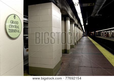 New York City - September 01: Subway Grand Central Station On September 01, 2013 In New York City.