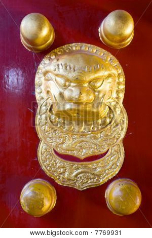 traditional chinese door handle