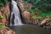 pic of na  - Hell Na Rok waterfall at Khao Yai National Park in Thailand - JPG