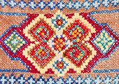 pic of stitches  - vintage knitting craftsmanship  - JPG