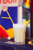 stock photo of pina-colada  - alcohol drinks on bar - JPG