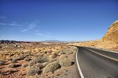 picture of valley fire  - Roads through the Valley of Fire in Nevada - JPG