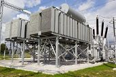 foto of transformer  - Phase shifting transformer used to control the flow of real power on three - JPG