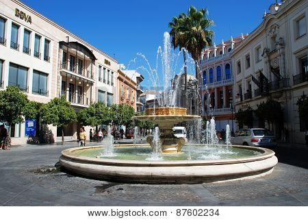 Fountain, Jerez de la Frontera.