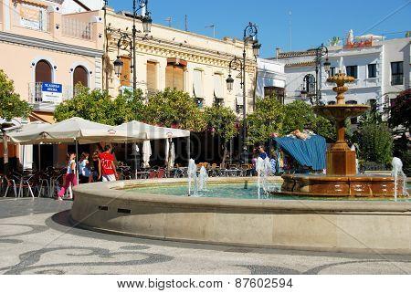 Town square, Sanlucar de Barrameda.