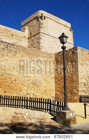 Santiago castle, Sanlucar de Barrameda.