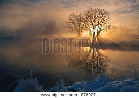 Sawhill Ponds, Sunrise