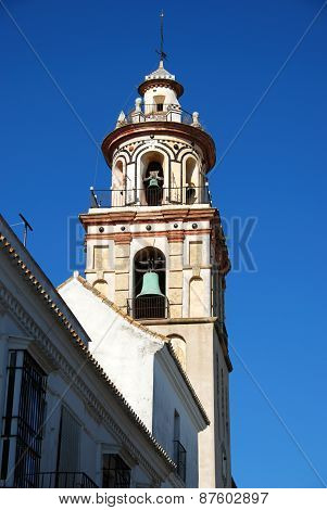 Church bell tower, Sanlucar de Barrameda.
