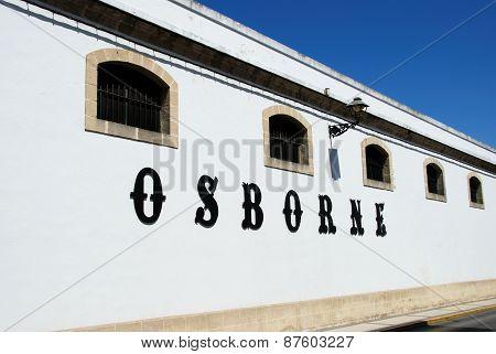 Osborne Bodega, El Puerto de Santa Maria.