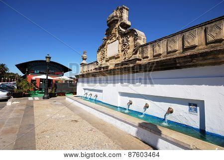 Drinking fountain, El Puerto de Santa Maria.