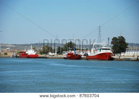 El Puerto de Santa Maria Port.