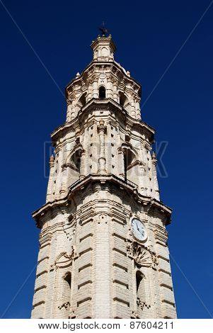 Clock tower, Aguilar de la Frontera.