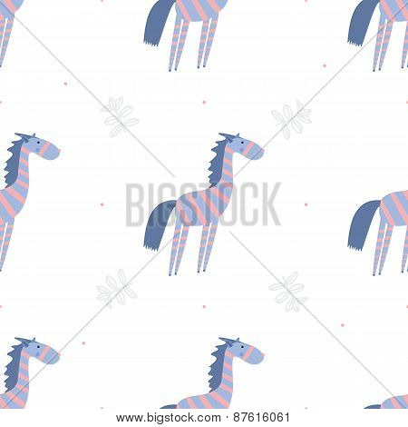 Seamless pattern zebras