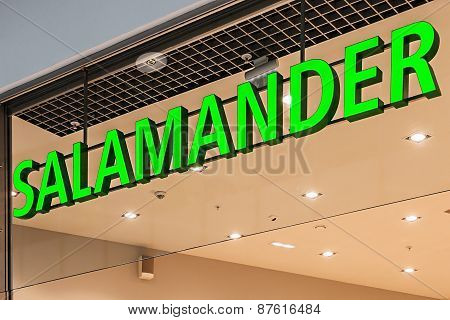 Salamander Shop In Moscow