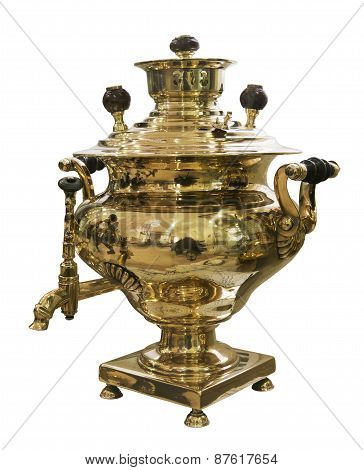 Samovar - A Machine For Preparing Hot Water