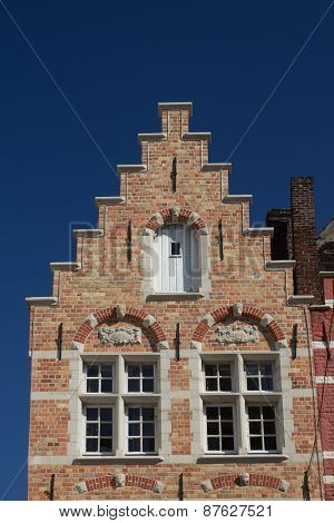 The Brick Historic House (bruges, Belgium)