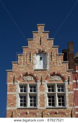The Brick Historic House (bruges, Belgium)