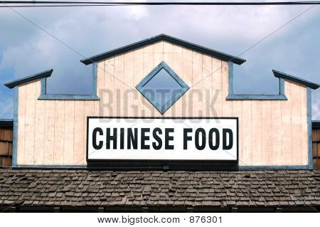 Chinese Food Sign