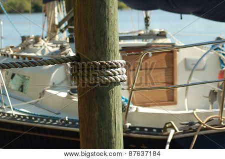 Sailboat Nautical Rope