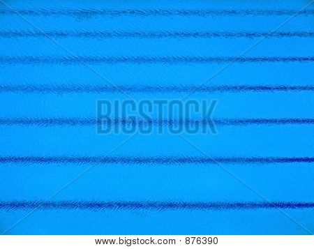 Swimming Pool Parallel Stripes