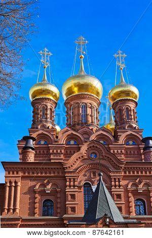 The Chernigovsky skete in Sergiev Posad - Russia