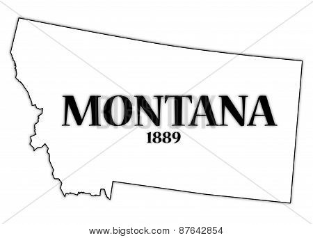 Montana State And Date