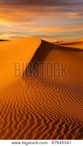 sands and sunset