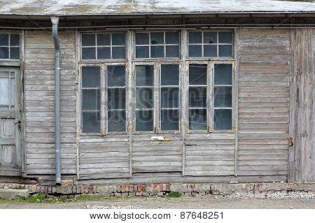 An Old Wooden Barrack