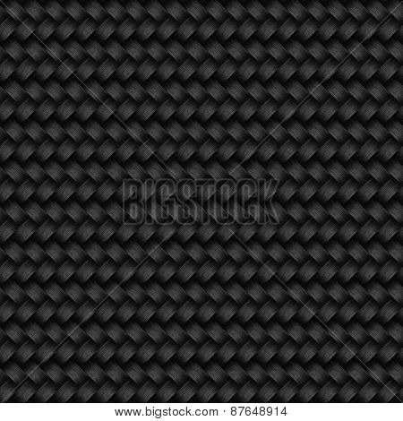 Seamless dark basket pattern.