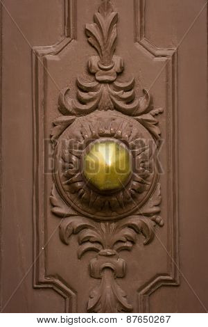 Knocker Front Door Of The House Maltese