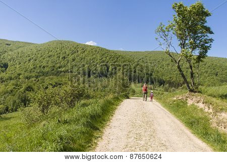 Hiking path