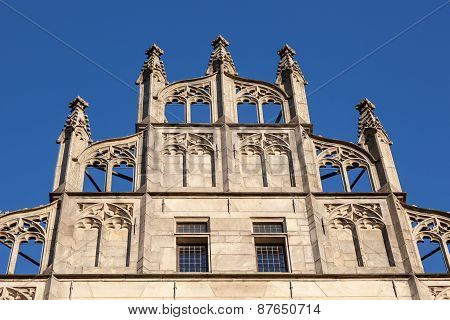 Historic Facade In  Munster, Germany