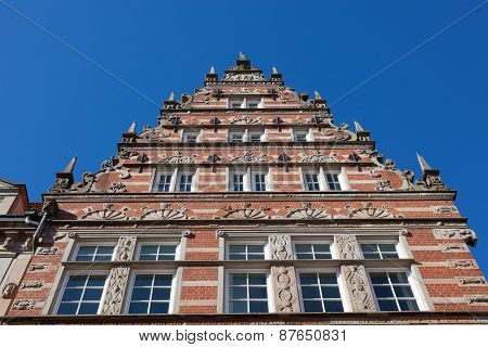Old Building In Historic Town Bremen