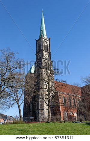 St. Stephani Church In Bremen