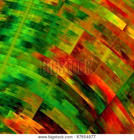 Messy colorful art background. Multicolored abstract grunge. Creative geometric pattern.