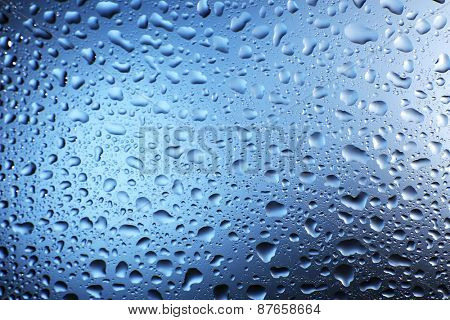 Water drops texture background