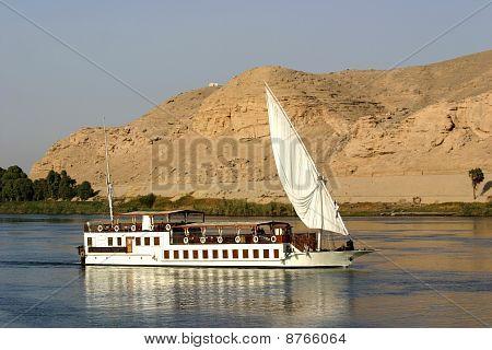 Sailing the Nile, Aswan, Egypt