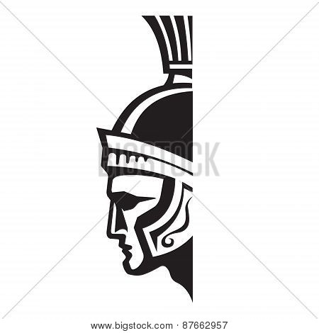 Centurion - vector logo sign template.