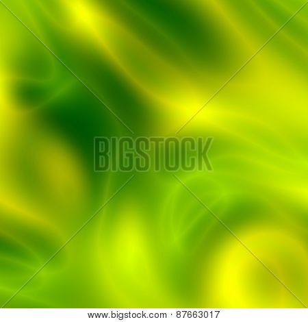 Abstract elegant green yellow background. Modern backdrop for greeting card or corporate brochure.