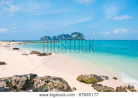 Beach in Andaman Sea