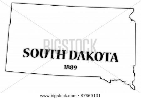 South Dakota State And Date