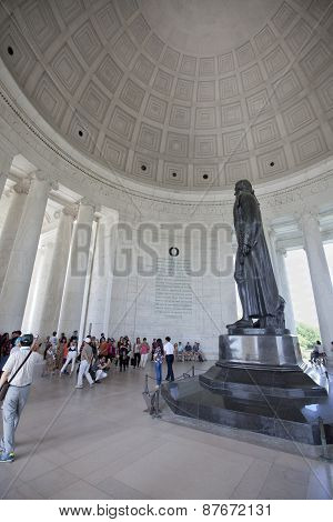 The Thomas Jefferson Memorial