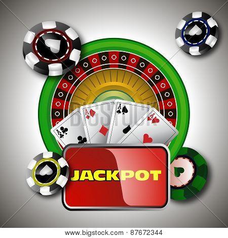 Design and casino jackpot