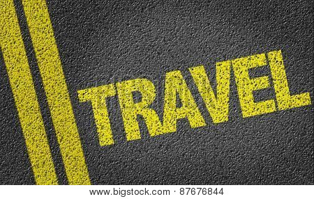 Travel written on the road