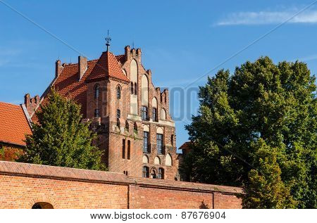 Manor House in Torun, Poland.