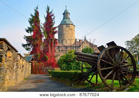 Czocha Castle Poland.