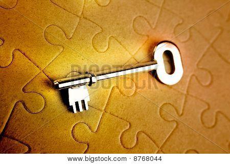 Clave en el rompecabezas